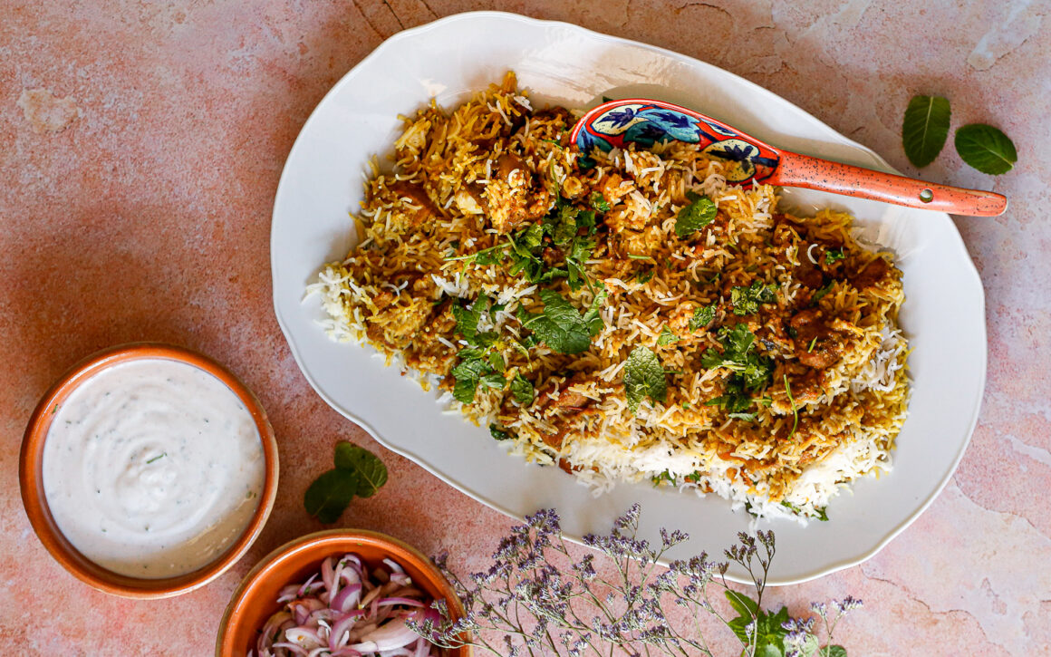 Lamb Biryani with the Instant Pot
