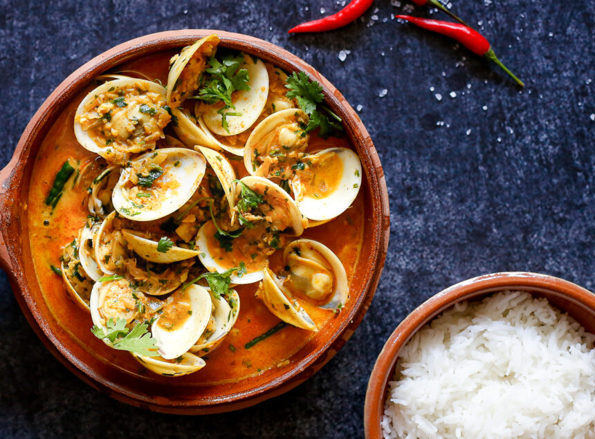 Indian clam curry