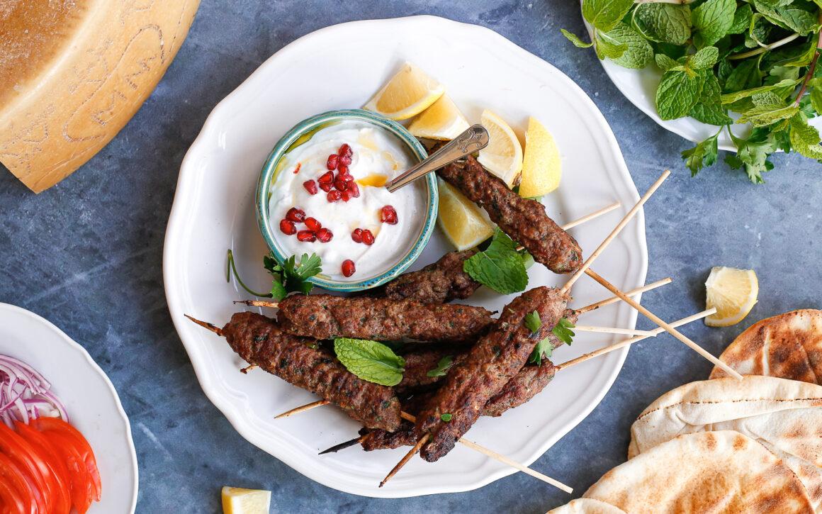 Middle Eastern Lamb Kebabs
